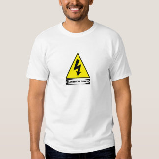 OSHA Electrical Shock (front design) T-shirt