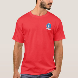 OSHA Gloves Required (small front design) T-Shirt
