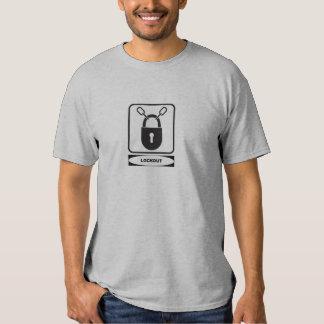 OSHA Lockout (front design) Shirt