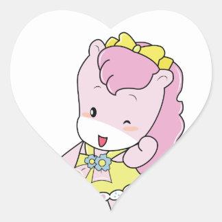 "Osharena Ponies ""Pinky"" Kawaii Stickers"