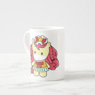 Osharena Pony Fashion Milky Bone China Mug