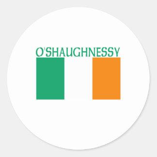 O'Shaughnessy Classic Round Sticker