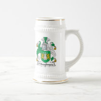 O'Shaughnessy Family Crest Beer Stein