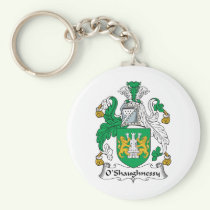 O'Shaughnessy Family Crest Keychain