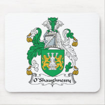 O'Shaughnessy Family Crest Mousepad