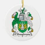 O'Shaughnessy Family Crest Christmas Tree Ornaments