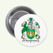 O'Shaughnessy Family Crest Button