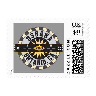 Oshawa Ontario Canada YOO Airport Stamp