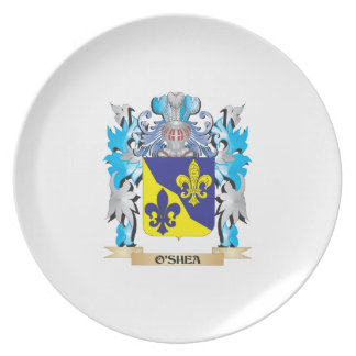 O'Shea Coat of Arms - Family Crest Dinner Plate