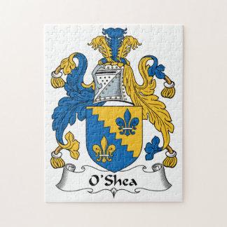 O'Shea Family Crest Jigsaw Puzzle