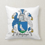 O'Sheehan Family Crest Pillows