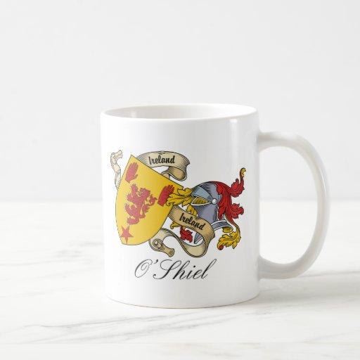 O'Shiel Family Crest Mugs
