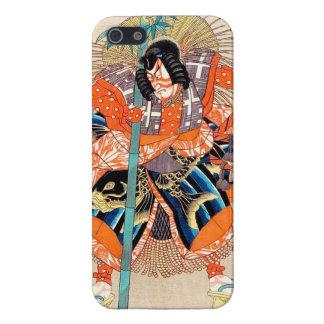 Oshimodori, de la serie dieciocho gran Kabuki iPhone 5 Fundas