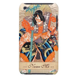 Oshimodori,from the series Eighteen Great Kabuki iPod Touch Cover