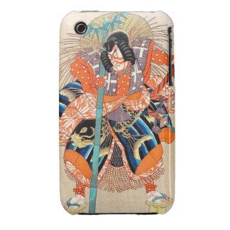 Oshimodori,from the series Eighteen Great Kabuki iPhone 3 Cases