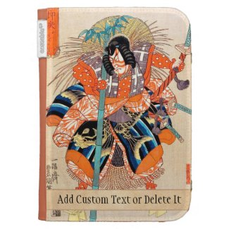 Oshimodori,from the series Eighteen Great Kabuki Kindle 3G Covers