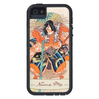 Oshimodori,from the series Eighteen Great Kabuki iPhone 5 Cover