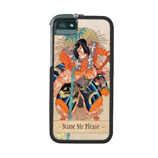 Oshimodori,from the series Eighteen Great Kabuki iPhone 5/5S Cover