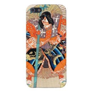 Oshimodori,from the series Eighteen Great Kabuki iPhone 5/5S Case