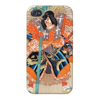 Oshimodori,from the series Eighteen Great Kabuki iPhone 4 Cases