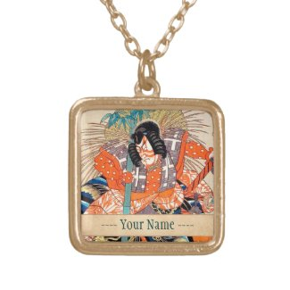 Oshimodori,from the series Eighteen Great Kabuki Necklace