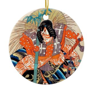 Oshimodori,from the series Eighteen Great Kabuki Ornaments