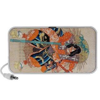 Oshimodori,from the series Eighteen Great Kabuki iPhone Speakers