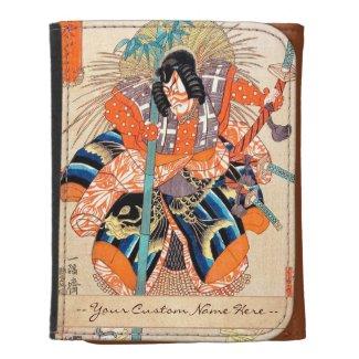 Oshimodori,from the series Eighteen Great Kabuki Wallet