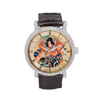Oshimodori,from the series Eighteen Great Kabuki Wrist Watch