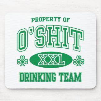 O'Shit Irish Drinking Team Mouse Pad