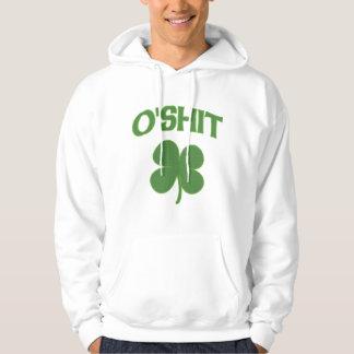 O'Shit Irish Shamrock Hooded Sweatshirt