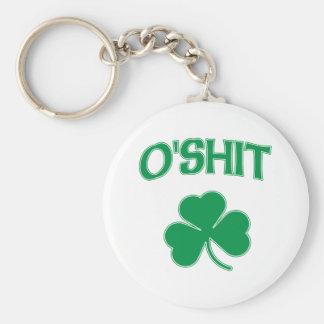 O'Shit Irsh Shamrock Keychain
