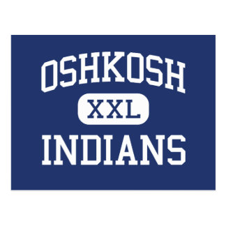 Oshkosh - Indians - High - Oshkosh Wisconsin Postcard