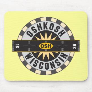 Oshkosh, WI OSH  Airport Mouse Pad