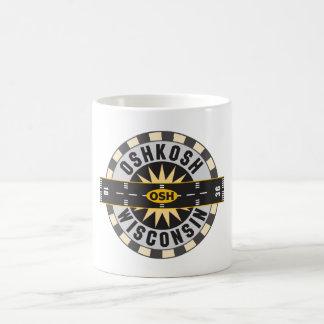 Oshkosh, WI OSH  Airport Classic White Coffee Mug