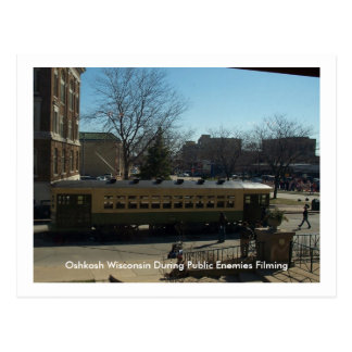 Oshkosh Wisconsin During Public Enemies Postcard