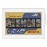Oshkosh, Wisconsin - escenas grandes de la letra Tarjetas