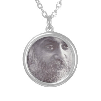 Osho closeup.jpg silver plated necklace