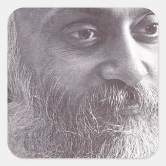 Osho closeup.jpg square sticker