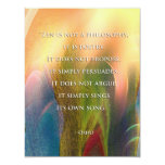 "Osho Zen quote invitation 4.25"" X 5.5"" Invitation Card"