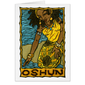 Oshun Greeting Card