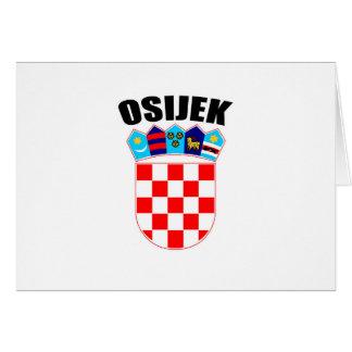 Osijek Coat of Arms Card