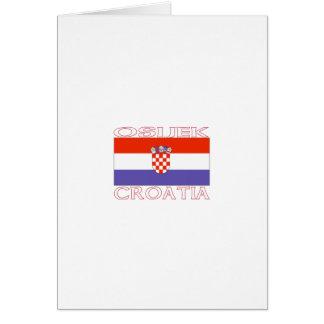 Osijek, Croatia Card