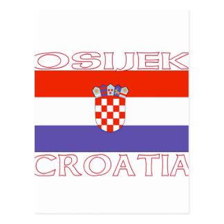 Osijek, Croatia Postcard