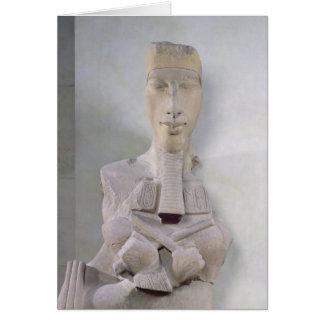 Osirid pillar of Amenophis IV  from Karnak Card