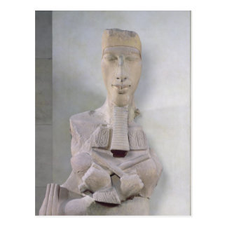 Osirid pillar of Amenophis IV  from Karnak Postcard