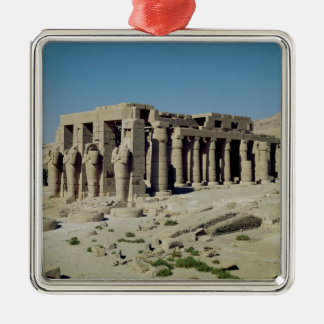 Osiride figura Ramesses II que flanquea las parede Ornato