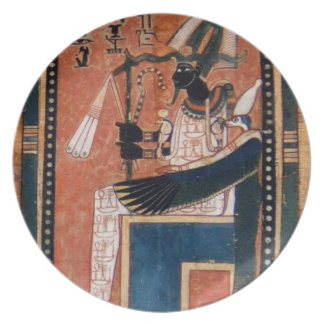 Osiris Ancient Egypt Reproduction Plate