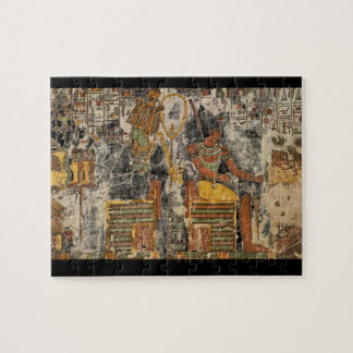 Osiris and Atum Seated with_Art of Antiquity Jigsaw Puzzle