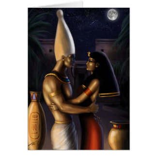 Osiris and Isis Cards